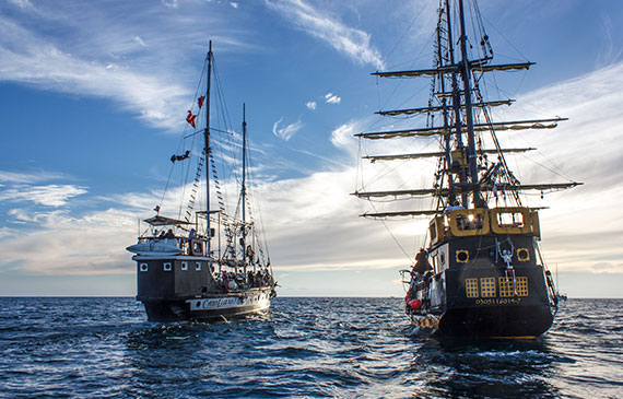 Cabo Legend and Buccaneer Queen the only Pirate Ships in Cabo